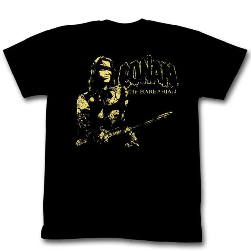 CONAN-THE MAN-BLACK ADULT S/S TSHIRT