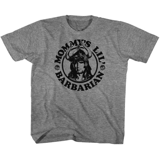 CONANOMMYS BARBARIAN-GRAPHITE HEATHER YOUTH S/S TSHIRT