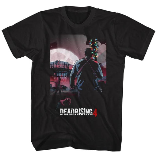 DEAD RISING-BATMAS-BLACK ADULT S/S TSHIRT