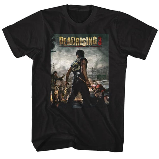 DEAD RISING-DEADRISING3-BLACK ADULT S/S TSHIRT