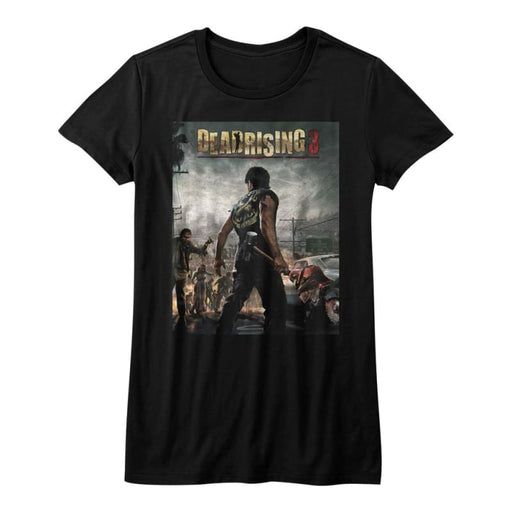 DEAD RISING-DEADRISING3-BLACK JUNIORS S/S TSHIRT