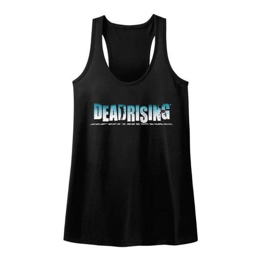 DEAD RISINGOGO-BLACK LADIES RACERBACK