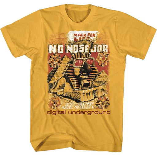 DIGITAL UNDERGROUND-NO NOSE JOB-GINGER ADULT S/S TSHIRT
