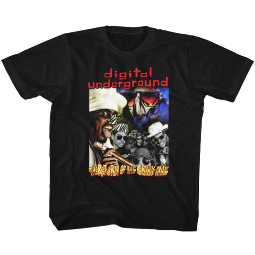 DIGITAL UNDERGROUND-THE RETURN-BLACK TODDLER S/S TSHIRT