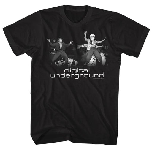 DIGITAL UNDERGROUNDTAGE-BLACK ADULT S/S TSHIRT