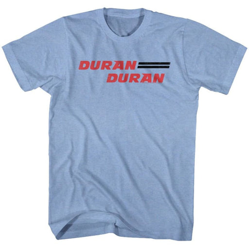 DURAN DURAN-DURAN DURANIGHT BLUE HEATHER ADULT S/S TSHIRT