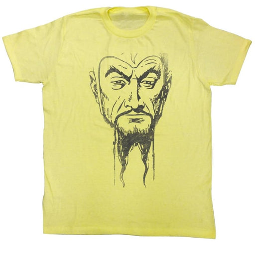 FLASH GORDONING MUG4-YELLOW HEATHER ADULT S/S TSHIRT