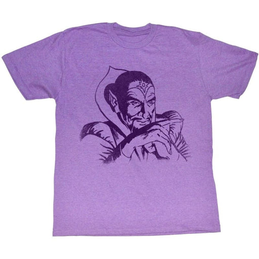 FLASH GORDONING-Retro Purple Heather ADULT S/S TSHIRT