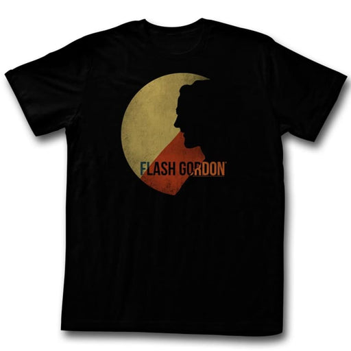 FLASH GORDONOON OF FIRGIA-BLACK ADULT S/S TSHIRT