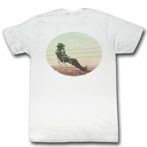 JAMES DEAN-WAITING-WHITE ADULT S/S TSHIRT