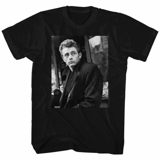 JAMES DEANLOUCH-BLACK ADULT S/S TSHIRT