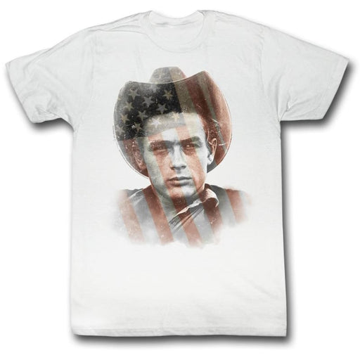 JAMES DEANURICAN-WHITE ADULT S/S TSHIRT