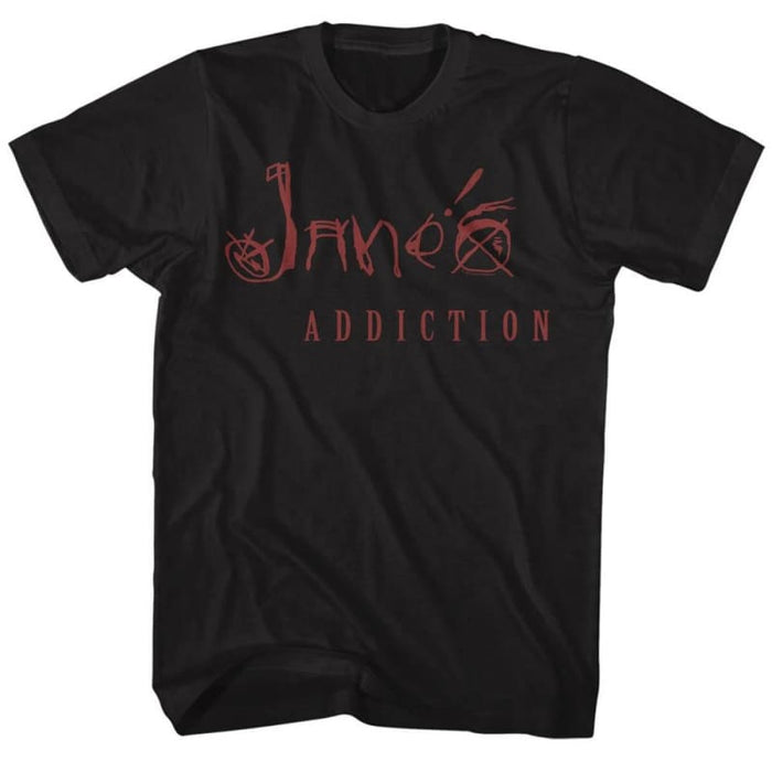 JANES ADDICTION-JANES ADDICTION-BLACK ADULT S/S TSHIRT