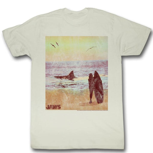JAWSURFSIDE-NATURAL ADULT S/S TSHIRT