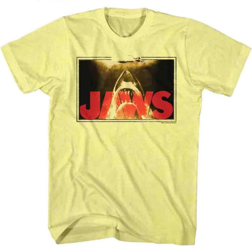 JAWSWIM LINES-YELLOW HEATHER ADULT S/S TSHIRT