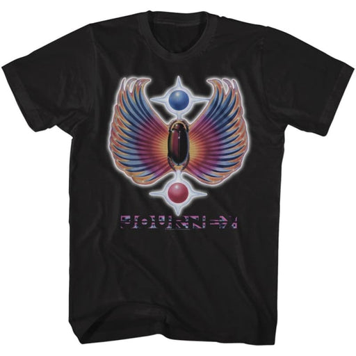 JOURNEY-GREATEST HITS-BLACK ADULT S/S TSHIRT