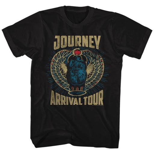 JOURNEY-TRICOLOR-BLACK ADULT S/S TSHIRT