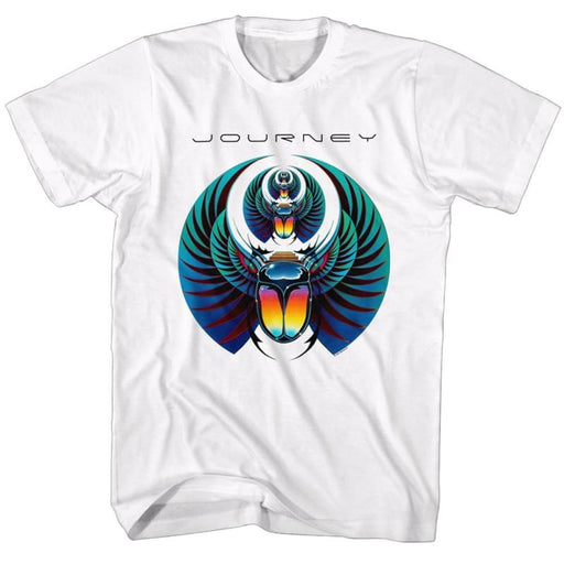 JOURNEYCARAB-WHITE ADULT S/S TSHIRT