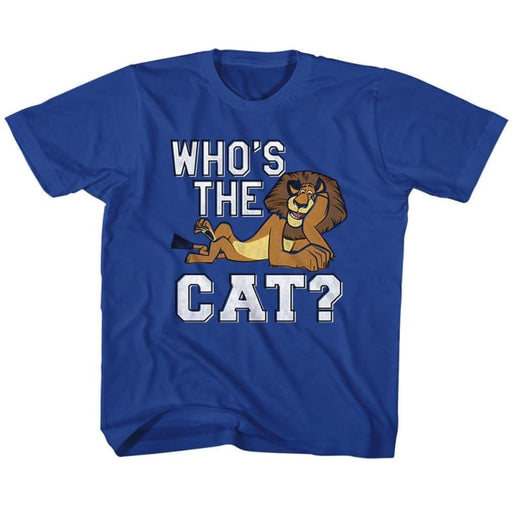 MADAGASCAR-THE CAT-ROYAL YOUTH S/S TSHIRT