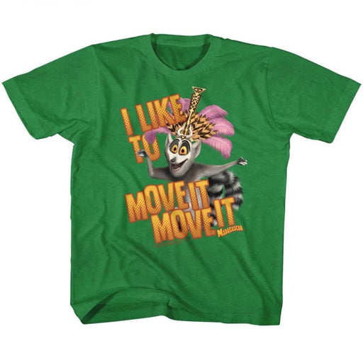MADAGASCAROV ITE MOVE IT-VINTAGE GREEN TODDLER S/S TSHIRT