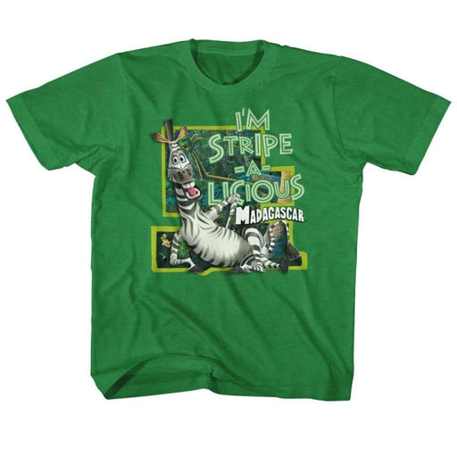 MADAGASCARTRIPE-AICIOUS-VINTAGE GREEN TODDLER S/S TSHIRT