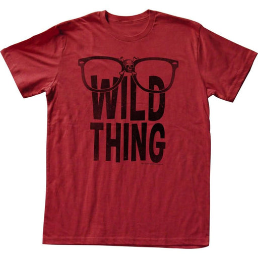 MAJOR LEAGUE-WILD THING-RED ADULT S/S TSHIRT