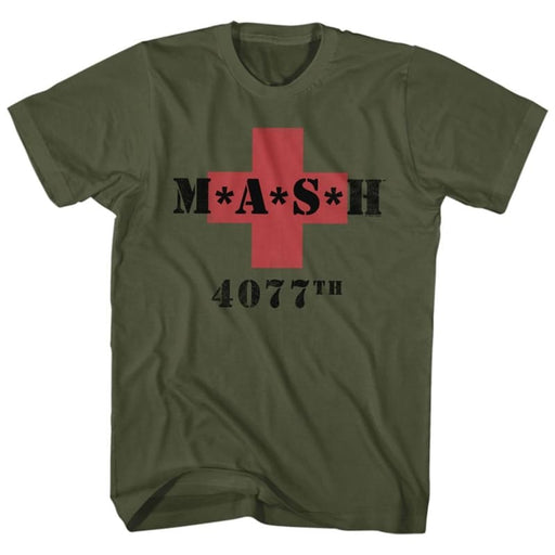 MASHASH 5077ILITARY GREEN ADULT S/S TSHIRT
