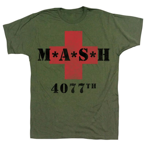 MASHASH5077BILITARY GREEN ADULT S/S TSHIRT