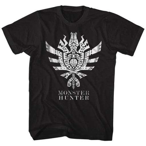 MONSTER HUNTERH4U SYMBOL-BLACK ADULT S/S TSHIRT