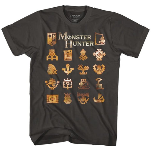 MONSTER HUNTERHMOKE ADULT S/S TSHIRT