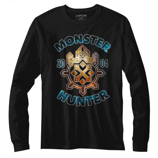 MONSTER HUNTERONSTERHUNTER-BLACK ADULT L/S TSHIRT