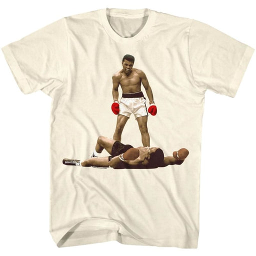 MUHAMMAD ALI-I AM THE GREATEST-NATURAL ADULT S/S TSHIRT