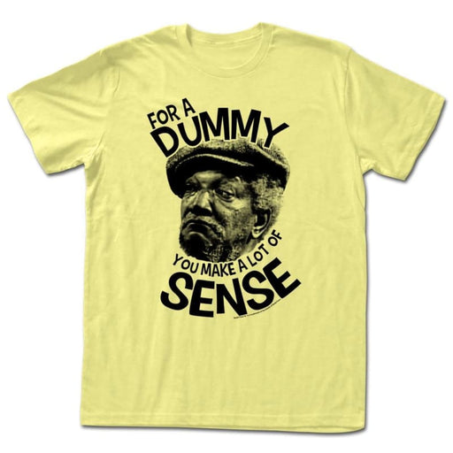 REDD FOXX-YOU SMART-YELLOW HEATHER ADULT S/S TSHIRT