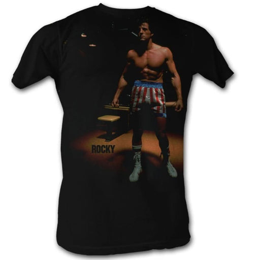 ROCKYPOTLIGHT ROCKY-BLACK ADULT S/S TSHIRT