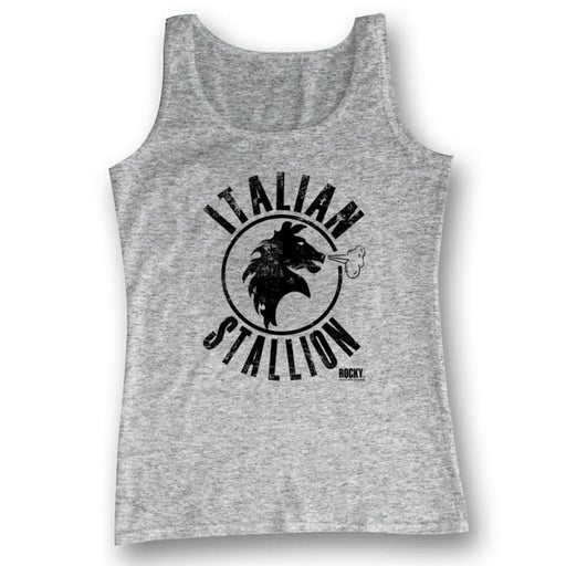 ROCKYTALLION-GRAY HEATHER ADULT TANK