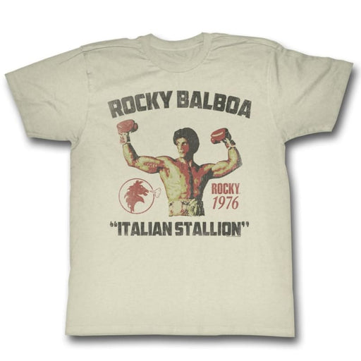 ROCKYTALLION-NATURAL ADULT S/S TSHIRT