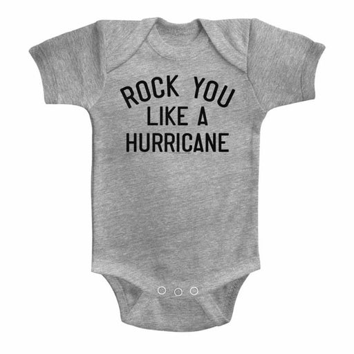 SCORPIONSIKE A HURRICANE-GRAY HEATHER INFANT S/S BODYSUIT
