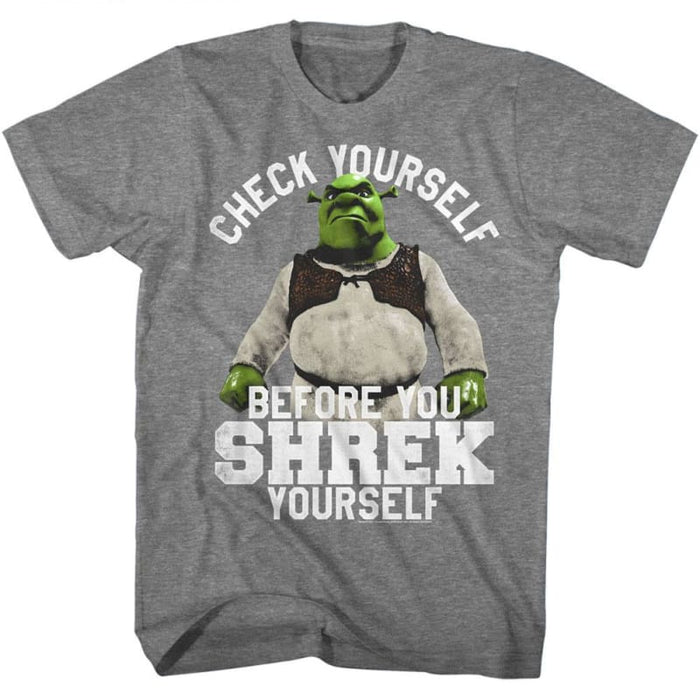 SHREKHREK URSELF-GRAPHITE HEATHER ADULT S/S TSHIRT
