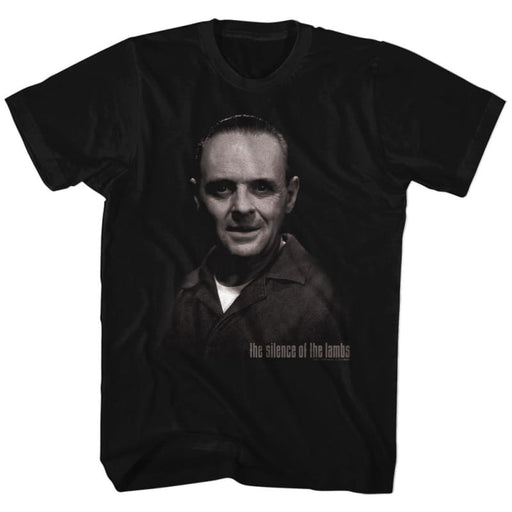 SILENCE OF THE LAMBS-H.LECTER-BLACK ADULT S/S TSHIRT
