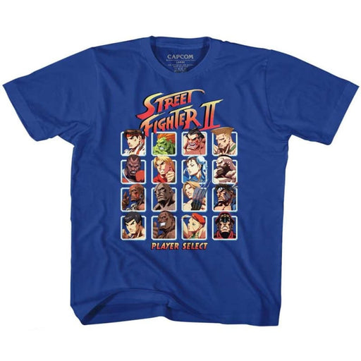 STREET FIGHTERUPER TURBO HD SELECT-ROYAL TODDLER S/S TSHIRT