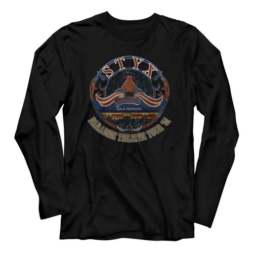 STYX-TOUR 81-BLACK ADULT L/S TSHIRT