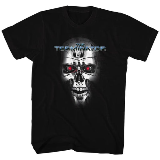 TERMINATOR-THE TERMINATOR-BLACK ADULT S/S TSHIRT