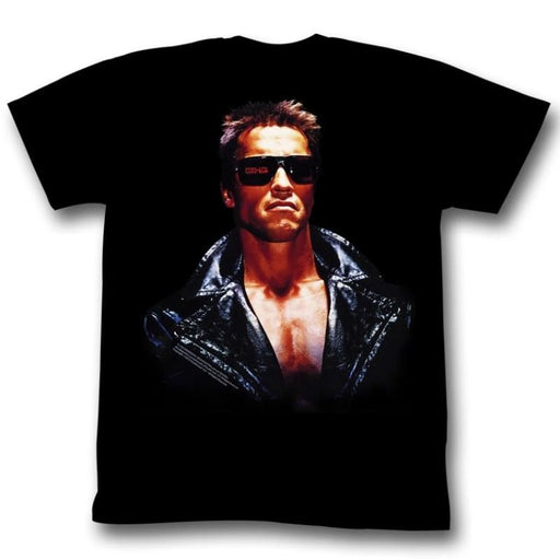 TERMINATOR-THIS DUDE-BLACK ADULT S/S TSHIRT