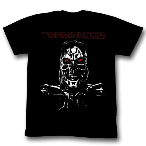 TERMINATORECOND TERM-BLACK ADULT S/S TSHIRT