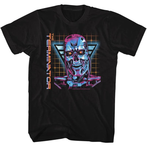 TERMINATORO VERY 80S-BLACK ADULT S/S TSHIRT