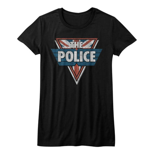 THE POLICE-THE POLICE-BLACK JUNIORS S/S TSHIRT