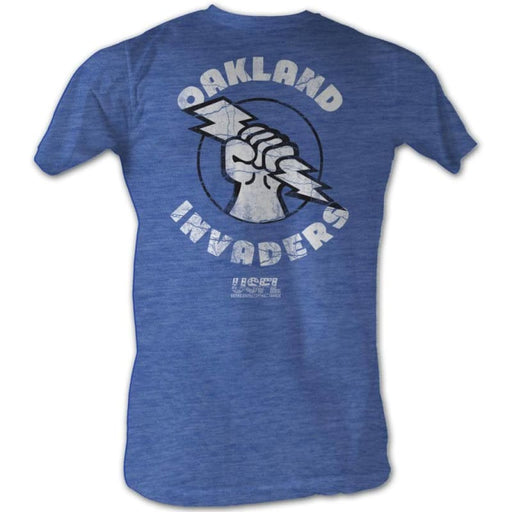 USFL-OAKLAND-ROYAL HEATHER ADULT S/S TSHIRT