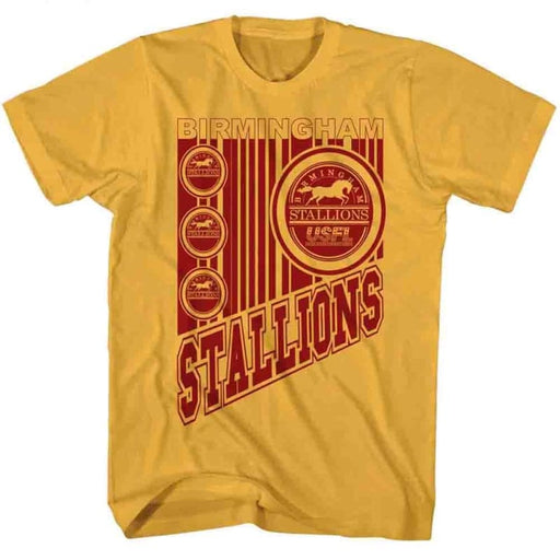 USFL-WILD STALLIONS-GINGER ADULT S/S TSHIRT