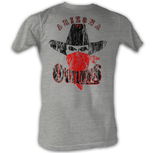 USFLNEAKY OUTLAW-GRAY HEATHER ADULT S/S TSHIRT