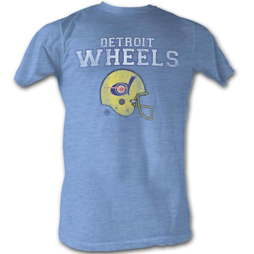 WFL-WHEELSIGHT BLUE HEATHER ADULT S/S TSHIRT